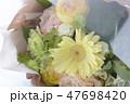 ガーベラの花束 47698420