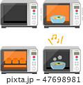 電子レンジのイラストセット 47698981