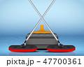 カーリング スポーツ ストーンのイラスト 47700361