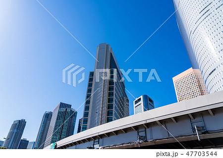 汐留シオサイトの高層ビル街 47703544