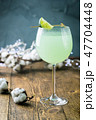 summer drink with lime 47704448
