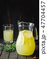 Iced lemonade with lemons 47704457