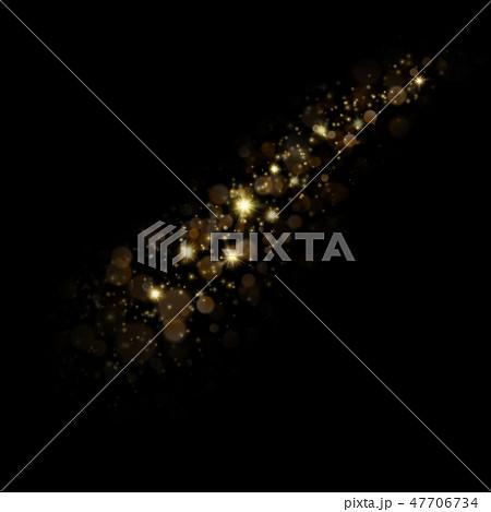 Christmas stardust trail effect. EPS 10 47706734
