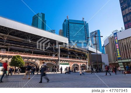 《東京都》新橋駅前 47707345