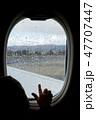 航空機 飛行機 子の写真 47707447