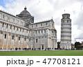 ピサの斜塔 ピサ 斜塔の写真 47708121