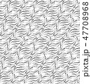 Abstract dotted line seamless pattern Dot ornament 47708968