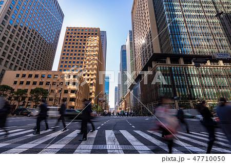 《東京都》日本経済の中心・大手町 47710050