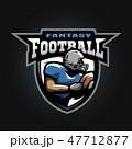 アメリカンフットボール サッカー フットボールのイラスト 47712877