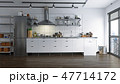 キッチン 厨房 台所のイラスト 47714172