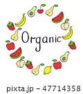 シンボルマーク ロゴ フレームのイラスト 47714358