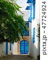 チュニジア 街並み シディブサイドの写真 47724924