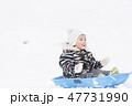 はじめての雪遊び 1歳児 47731990