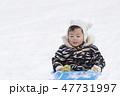 はじめての雪遊び 1歳児 47731997