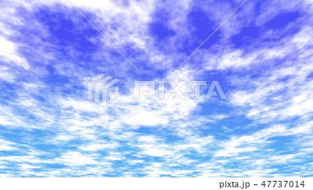 雲のある空の背景 バックグラウンド  47737014