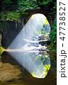 濃溝の滝 光芒 滝の写真 47738527