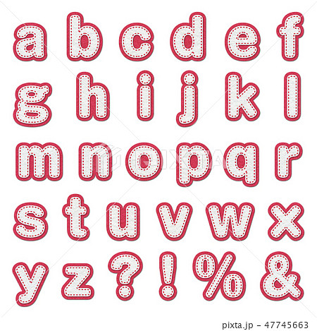 アルファベット 47745663