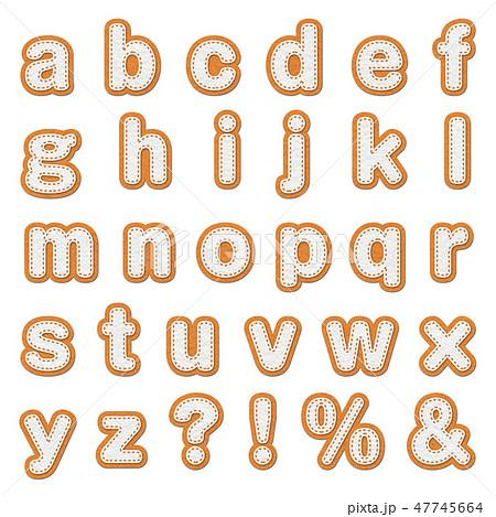 アルファベット 47745664