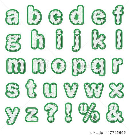アルファベット 47745666
