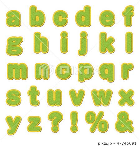 アルファベット 47745691
