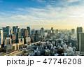都市風景 大阪 眺望の写真 47746208
