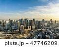 都市風景 大阪 眺望の写真 47746209