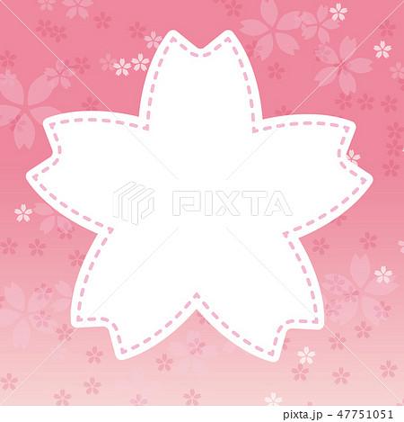 桜 フレーム 背景 キャンペーン 春 47751051