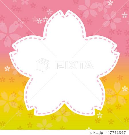 桜 フレーム 47751347