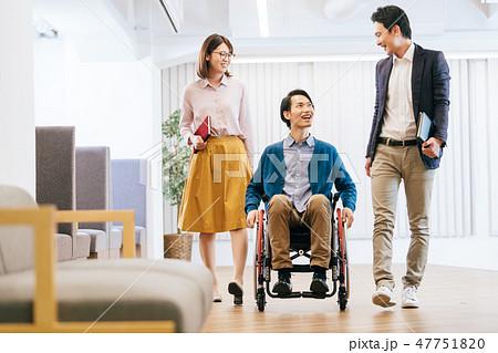 日本ユニバーサルマナー協会監修素材 47751820