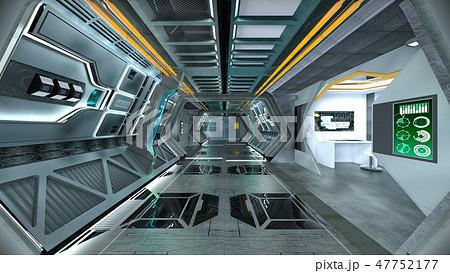 宇宙船内部 47752177