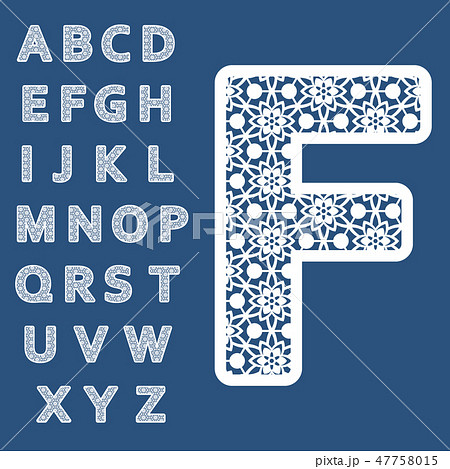 Templates for cutting out letters 47758015