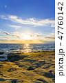 海 夕暮れ 海岸の写真 47760142