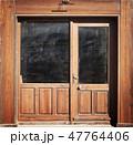 Wooden Door Background 47764406