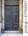 Wooden Door Background 47764407