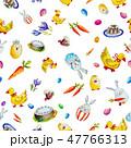 EASTER イースター 復活祭のイラスト 47766313