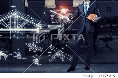 Man engineer at work 47775015