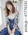 女性 人物 ファッションの写真 47776282