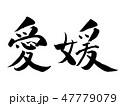 愛媛 和 和風のイラスト 47779079