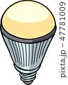 LED電球 47781009
