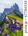 景色 風景 ベクトルのイラスト 47784339
