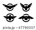 イーグル エンブレム 鳥のイラスト 47790337