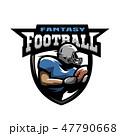 アメリカンフットボール サッカー フットボールのイラスト 47790668