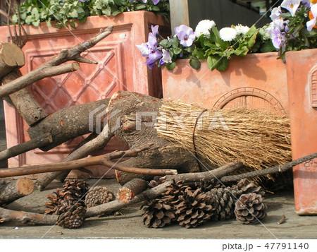 木材の子イノシシのオブジェ 47791140