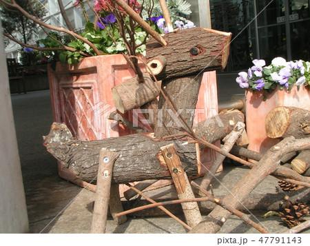 木材の子トナカイのオブジェ 47791143