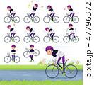 flat type man B&W sportswear_road bike 47796372