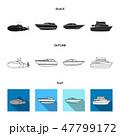軍事 サブマリン 潜水艦のイラスト 47799172