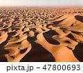 Aerial view on dunes in Sahara desert 47800693