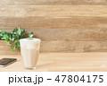 カフェイメージ チーズティー スマートフォン 47804175