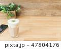 カフェイメージ チーズティー スマートフォン 47804176