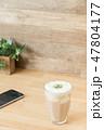 カフェイメージ チーズティー スマートフォン 47804177